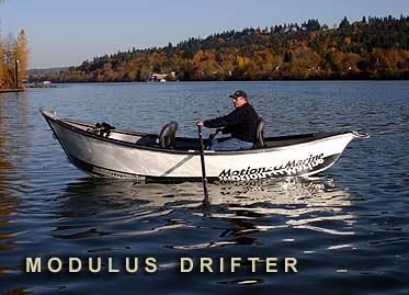 Photo of Motion Marine's Modulus Drift Boat