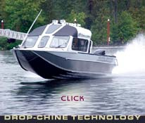 Link to Motion Marine's Exclusive Drop-Chine Technology