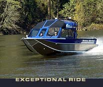 Photo of the Mojet LXV's exeptional ride.