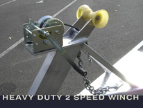 Photo of 2 speed winch w/ strap
